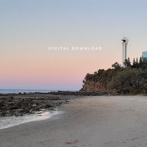 My Sunset Colours at Point Cartwright photo has been turned into wallpaper for electronic devices.