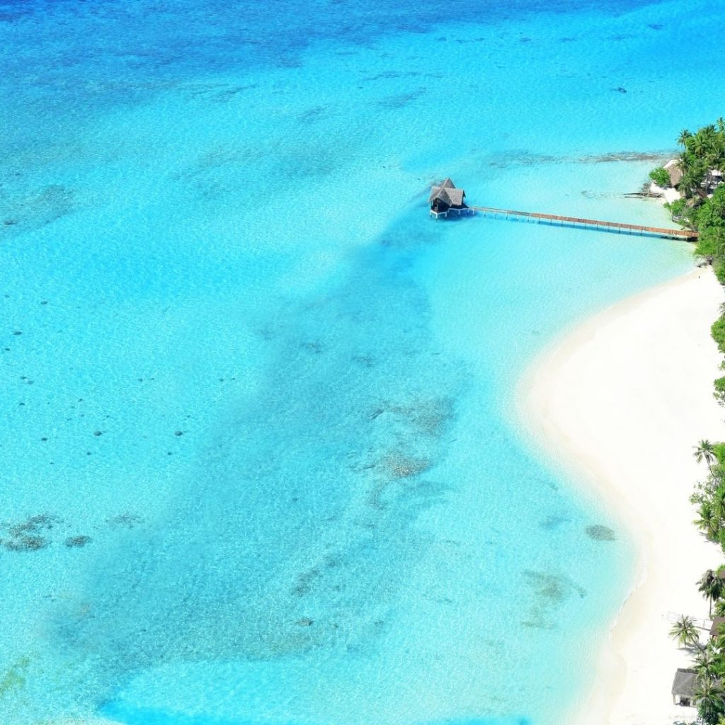 The Maldives is one of the best beach countries in the world.