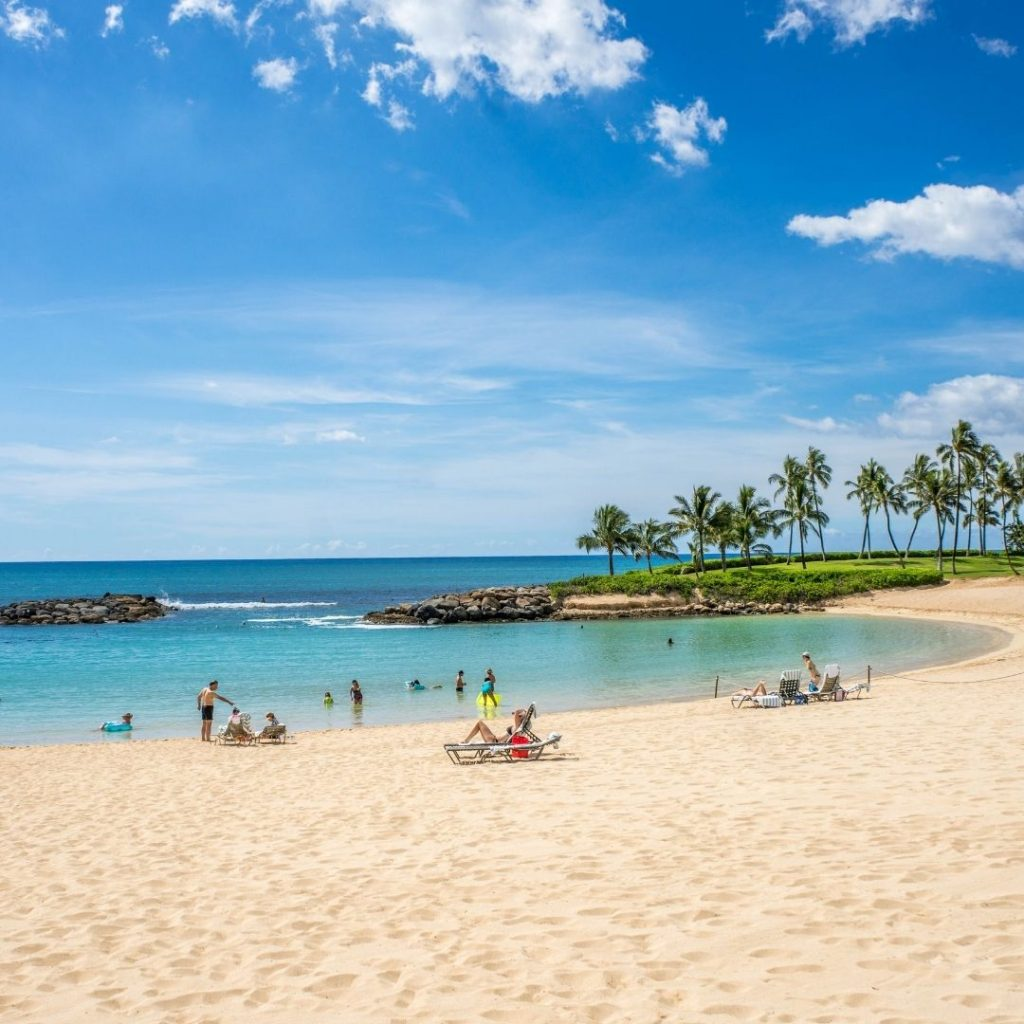 USA Beach in Hawaii