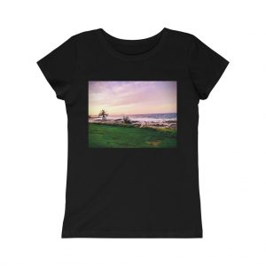 This Girls Princess Tee Sunset Beach is one of a wide range of cool beach themed t-shirts you can buy online at the Beach Scenes online store!