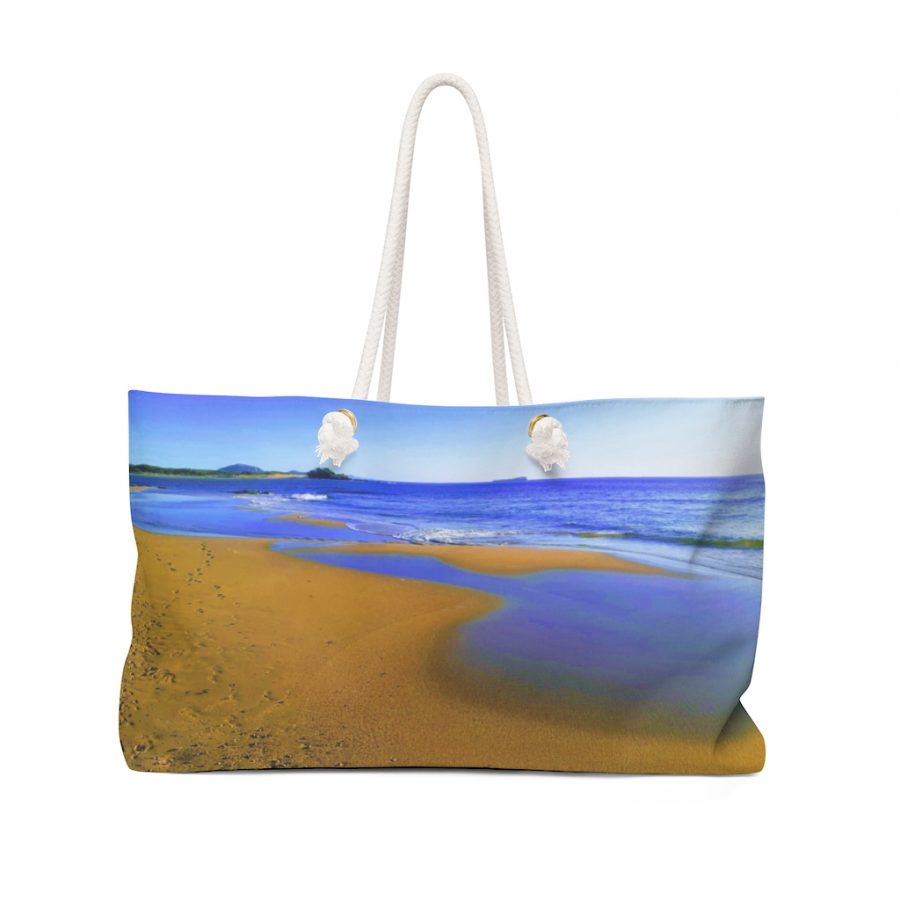 You can buy this Weekender Bag Beach Scene exclusively from the Beach Scenes online store!
