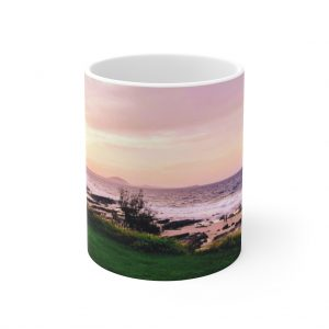 This Sunset Beach Ceramic Mug is perfect for those who love the beach and tea, coffee or hot chocolate!