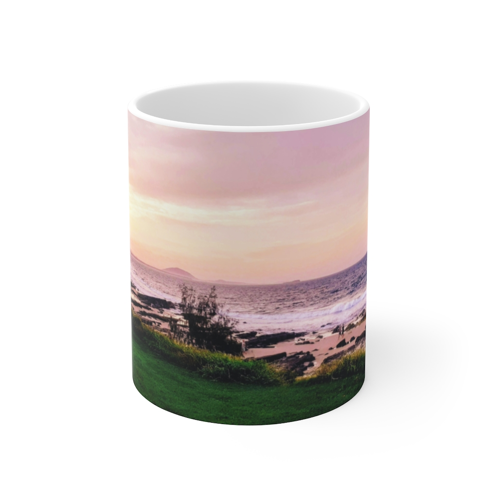 Sunset Beach Ceramic Mug is one of a range of many awesome beach themed products you can buy from the Beach Scenes store.
