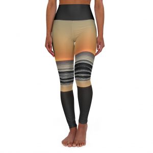 This Sunrise Print Yoga Leggings is part of a range of women's sportswear you can buy from Beach Scenes online store!