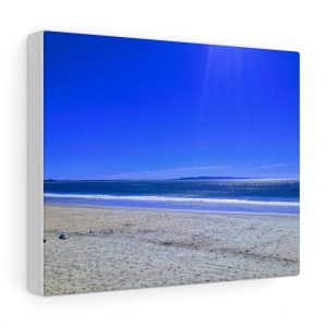 This Blue Sky Shades at Laguna Beach Noosa Canvas is one of a range of cool wall art you can buy from the Beach Scenes online store.