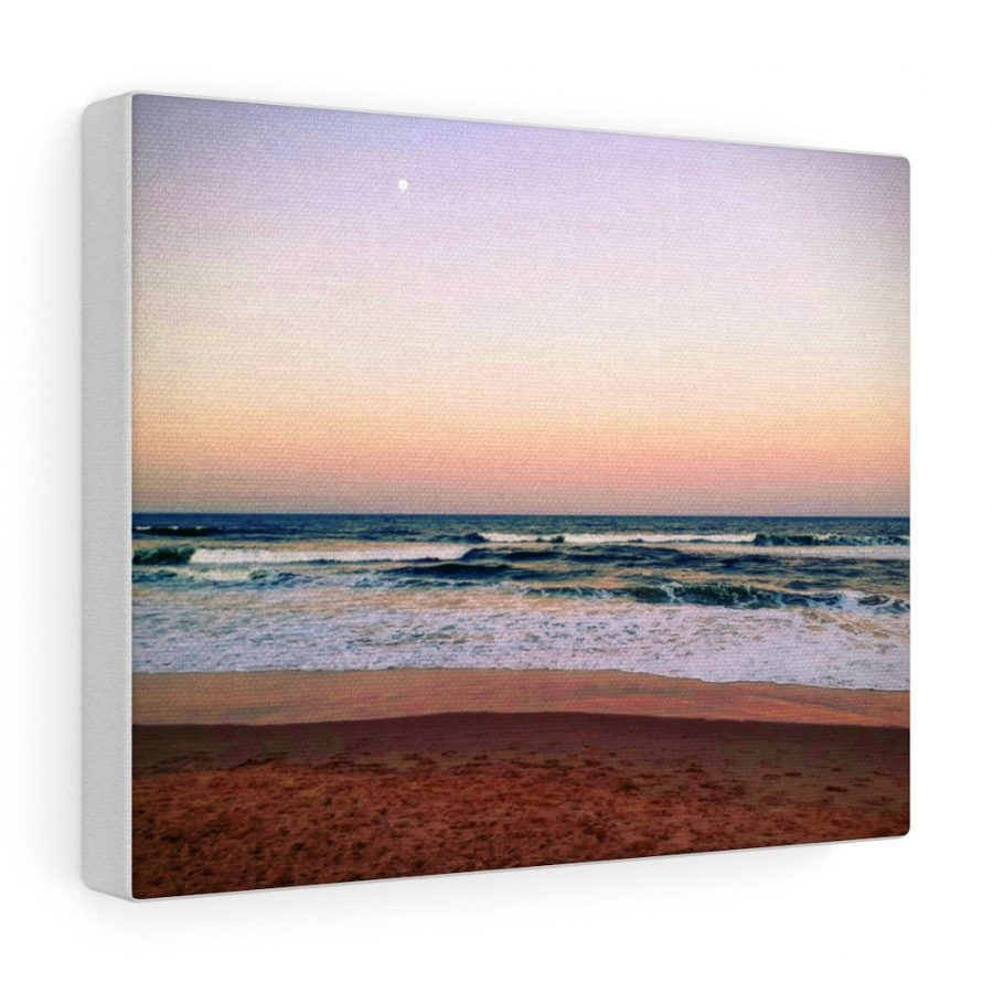 This Sunset Colours on the Beach Canvas is available to buy from the Beach Scenes online store.