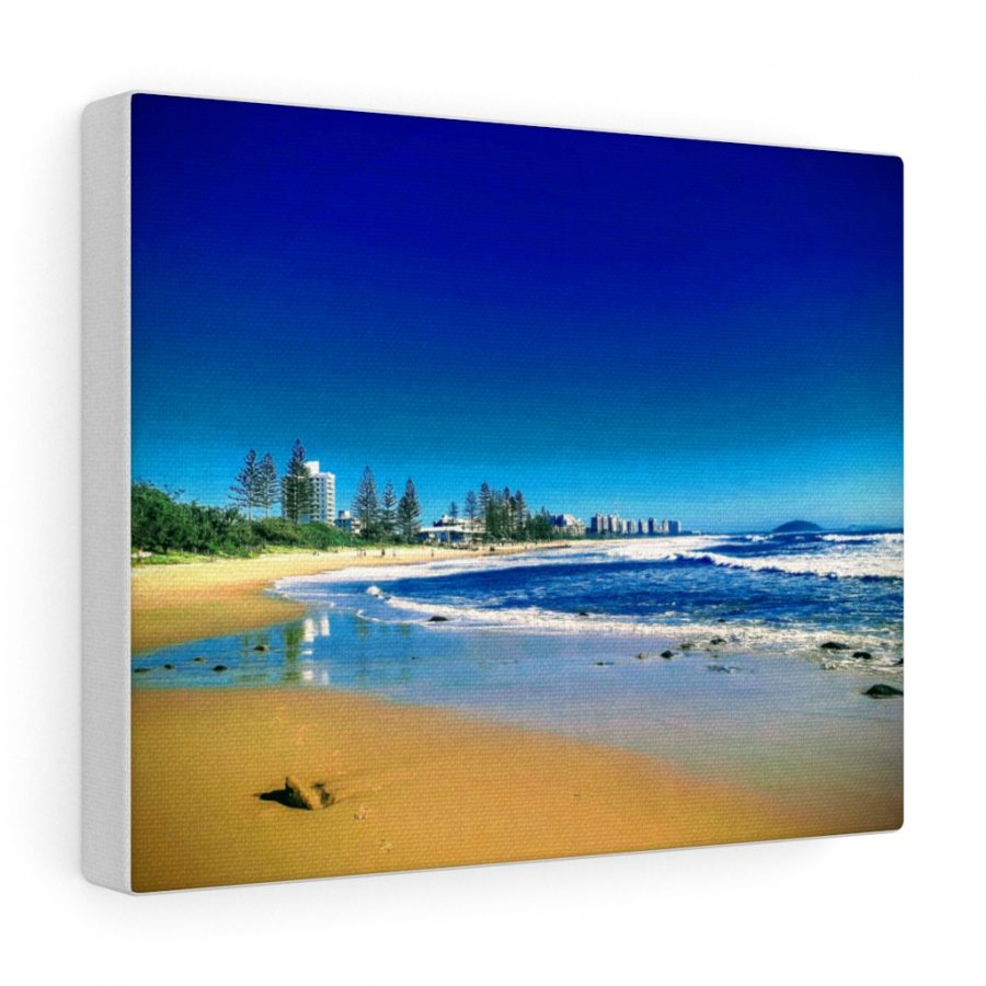 This Alexandra Headlands Canvas is one of many beach themed wall art pieces you can buy from the Beach Scenes online store.