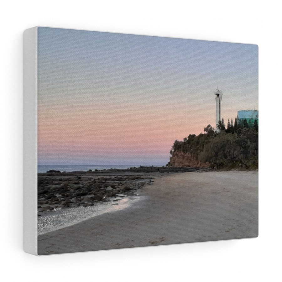 This Beach Lighthouse Canvas is one of many beach themed wall art pieces you can buy from the Beach Scenes online store.
