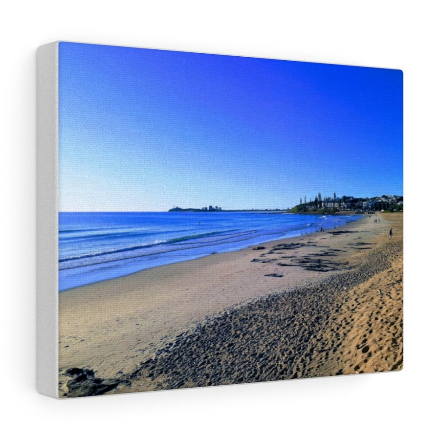This Blue Ocean Sky at Maroochydore Canvas is one of many beach themed wall art pieces you can buy from the Beach Scenes online store.