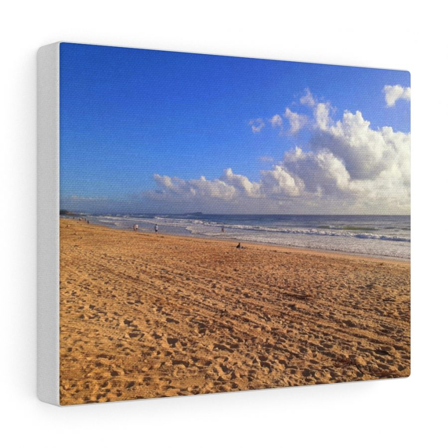 This Clouds at Cotton Tree Beach is one of many beach themed wall art pieces you can buy from the Beach Scenes online store.