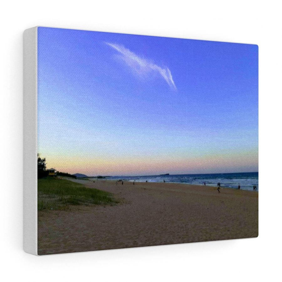 This Pterodactyl Cloud Canvas is available to buy from the Beach Scenes online store!