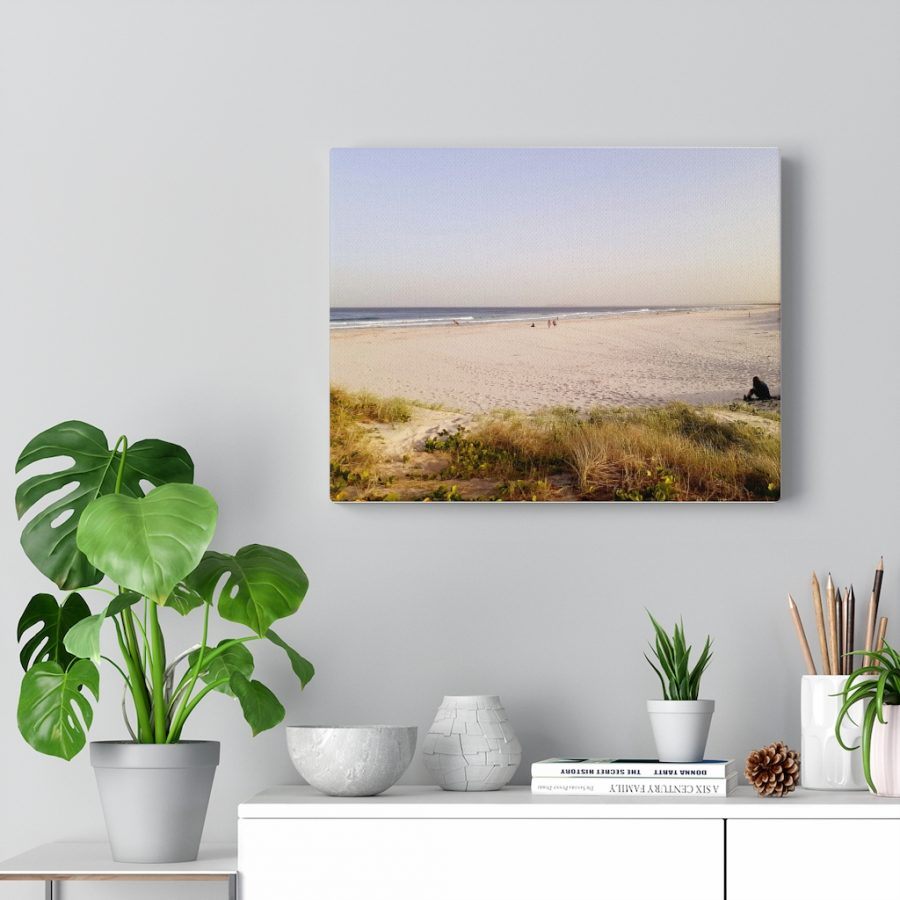 This Serene Beach Photo Canvas is available to buy from the Beach Scenes online store!
