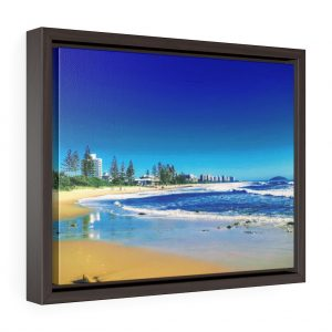 This Alexandra Headlands Framed Canvas is available to buy from the Beach Scenes online store.!