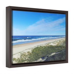This Ocean View at Kawana Beach Framed Canvas is available to buy from the Beach Scenes online store !