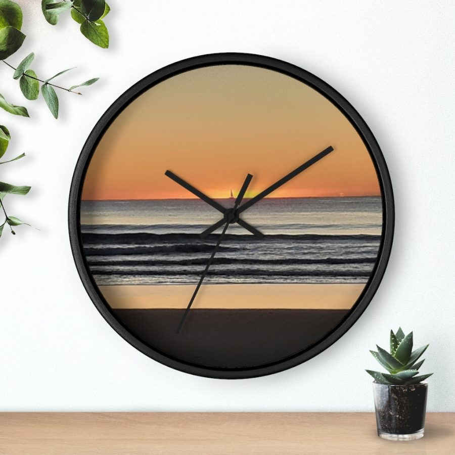 This Beach Sunset Wall Clock is one of many awesome beach themed products you can buy for your home or office from the Beach Scenes online store!