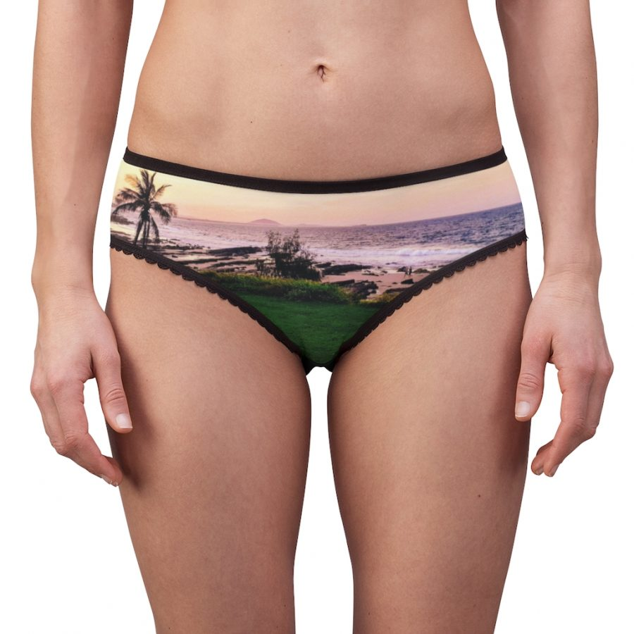 This Sunset Beach Briefs is available to buy from the Beach Scenes online store.