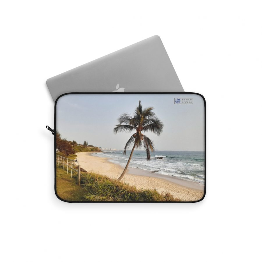 This Windswept Palm Tree Laptop Sleeve is one of a wide range of beach themed products you can buy from the Beach Scenes online store.