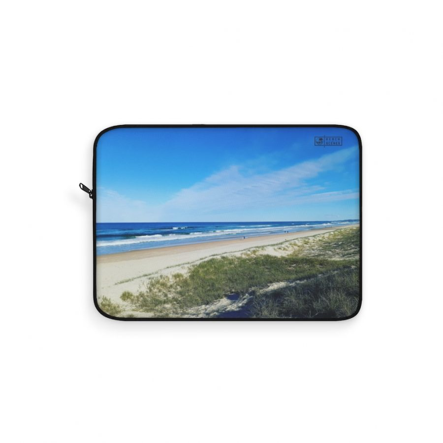 This Ocean View at Kawana Beach Laptop Sleeve is one of a range of beach themed products you can buy at the Beach Scenes online store.