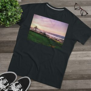 This Sunset Beach Modern Fit Tee is available to buy from Beach Scenes online store.