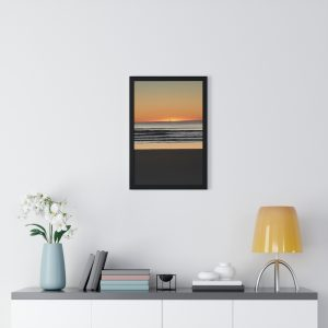 This Sunrise at Mudjimba photo frame is one of a range of wall art pieces you can buy from the Beach Scenes online store.