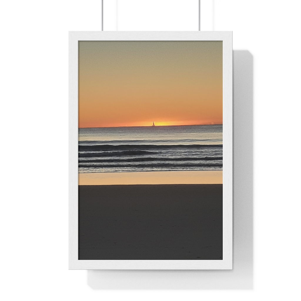 This Sunrise at Mudjimba is one of many cool beach wall art pieces we have available for you to buy for your home decor.