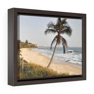 This Windswept Palm Tree Framed Canvas is available to buy from the Beach Scenes online store!
