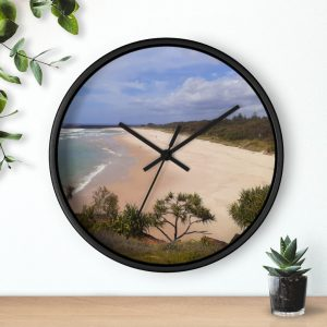 This Ballina Beach Wall Clock is available to buy from the Beach Scenes online store!