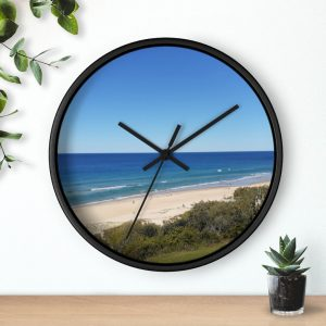 This Sunrise Beach Wall Clock is one of a range of beach themed products you can buy from the Beach Scenes online store.