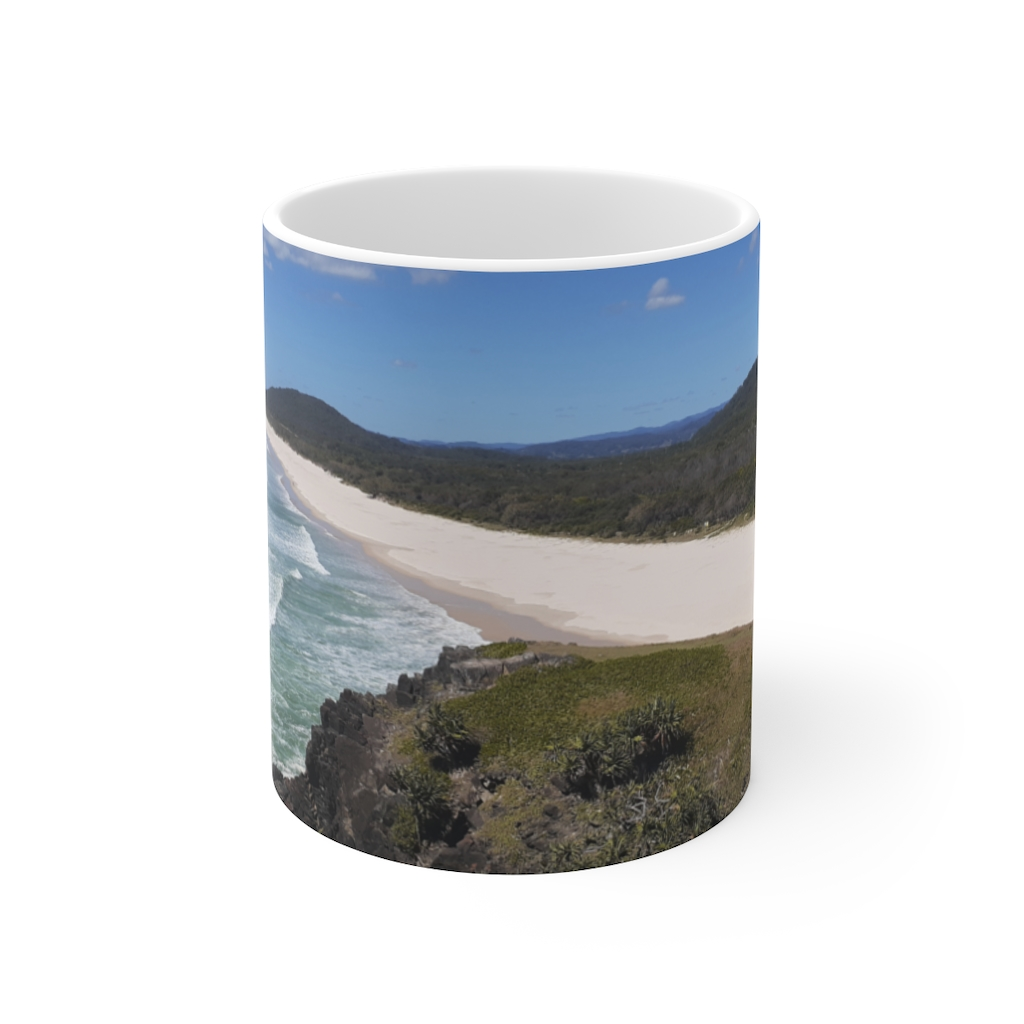 This Cabarita Ceramic Mug is available to buy from the Beach Scenes online store.