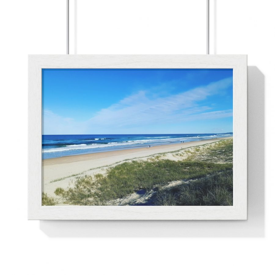 This Ocean View at Kawana Beach Poster is available to buy from the Beach Scenes online store!