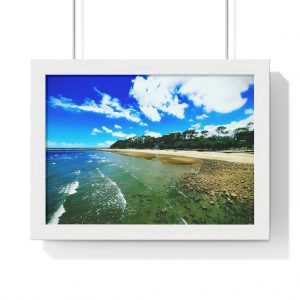 This Shorncliffe Framed Horizontal Poster is available to buy from the Beach Scenes online store with worldwide shipping.