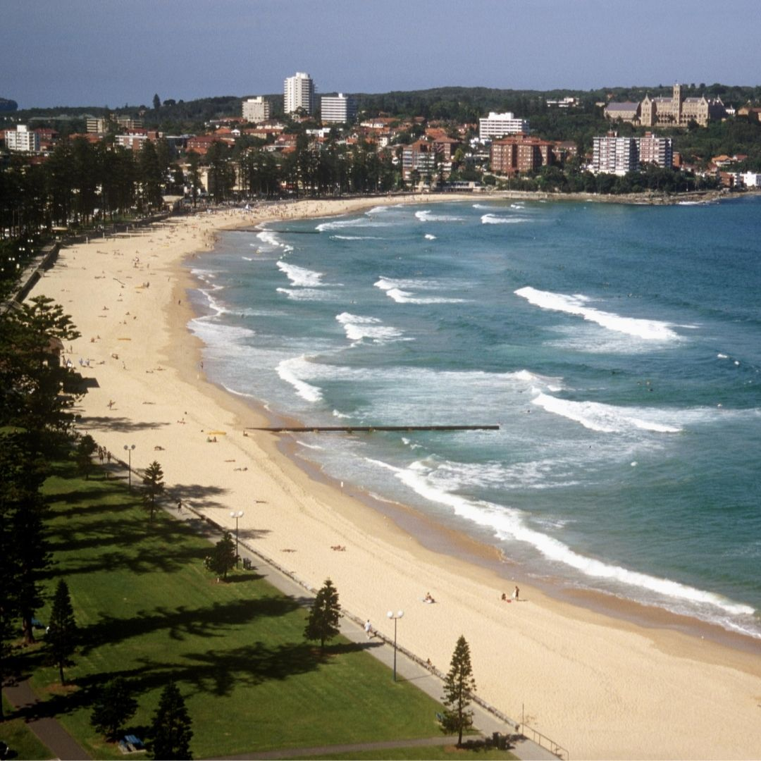 Manly Beach has made Beach Scenes list of 75 of the best beaches in Australia.