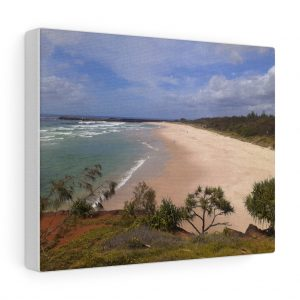 This Ballina Beach Canvas is available to buy from the Beach Scenes online store.