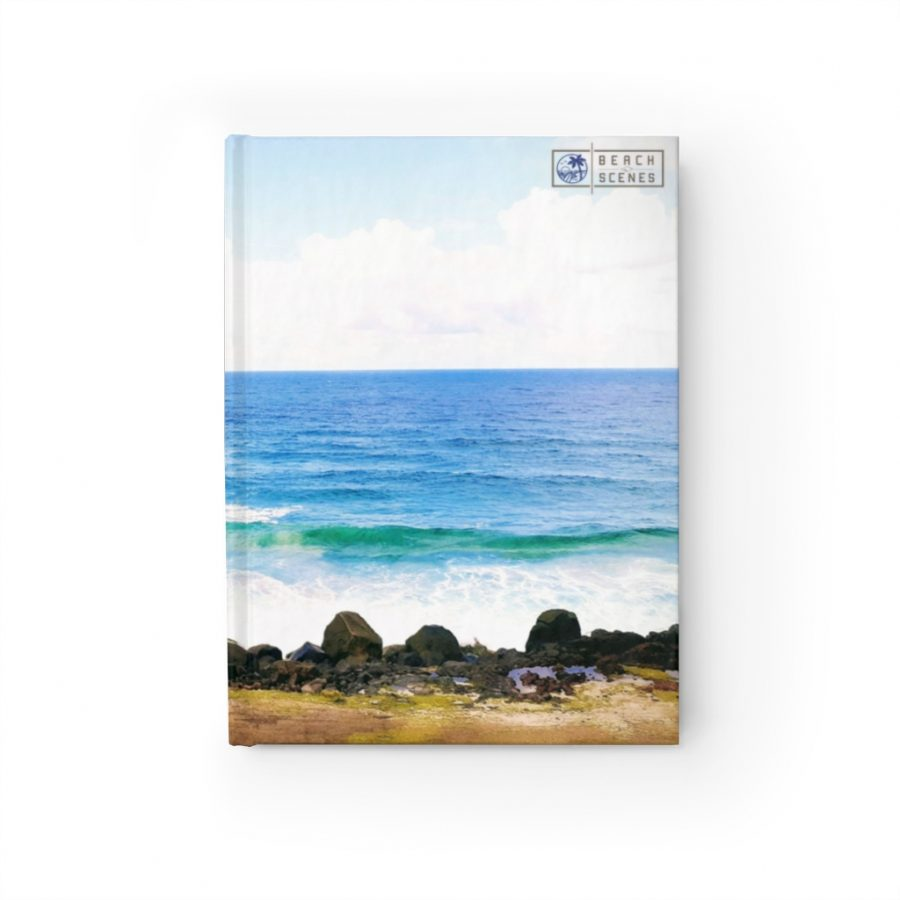 This Crashing Waves at Coolangatta Journal is available to buy from the Beach Scenes online store.
