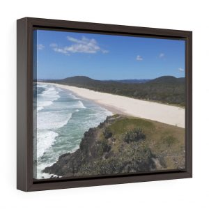 This Cabarita Beach Framed Canvas is available to buy from the Beach Scenes online store.