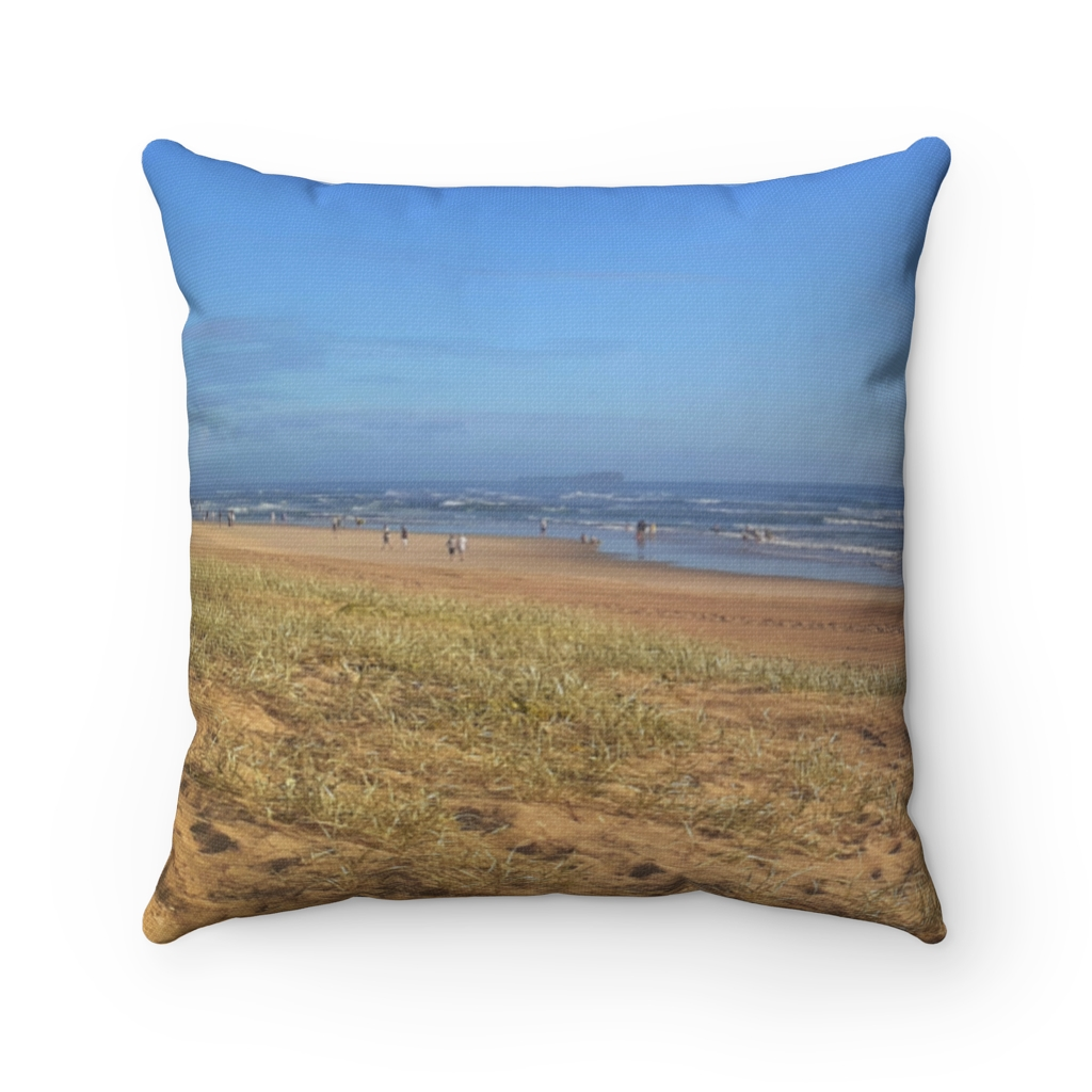 This Minimalist Beach Cushion is available to buy from the Beach Scenes online store.