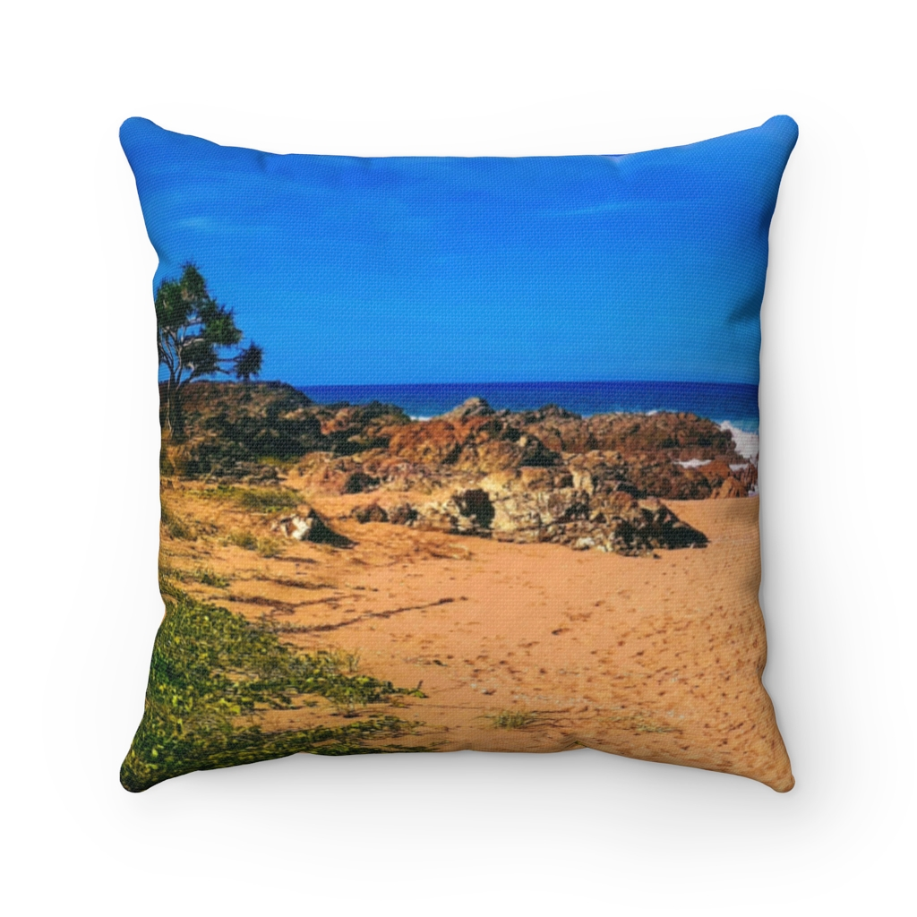 This Chinamans Beach Cushion is available to buy from the Beach Scenes online store.
