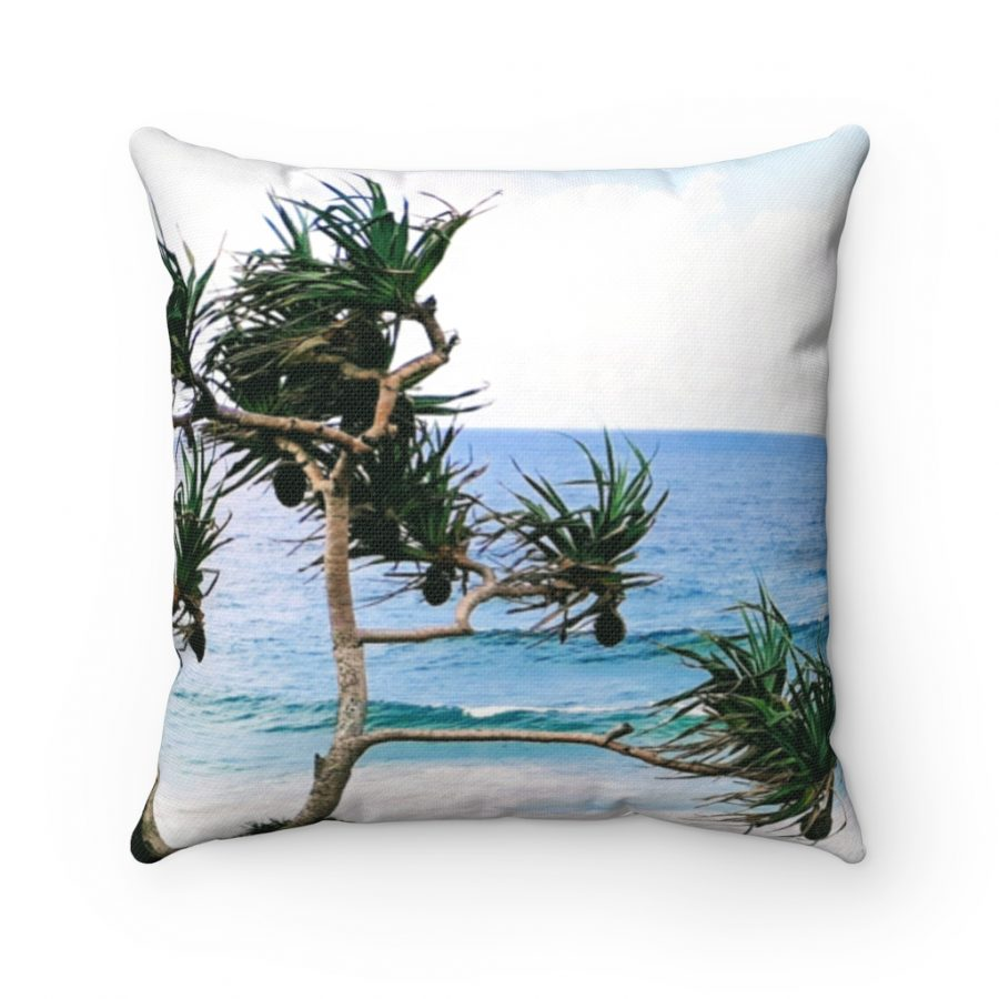 This Crashing Waves at Coolangatta Beach Cushion is available to buy from the Beach Scenes online store.