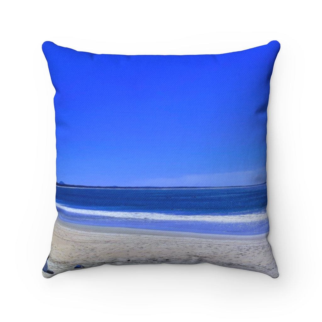 This Blue Sky Shades Cushion is one of a range of many awesome beach themed products you can buy from the Beach Scenes store.
