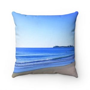 This Blue Sky Ocean Cushion is available to buy from the Beach Scenes online store.