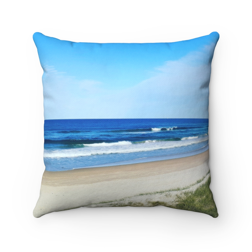 This Ocean View at Kawana Beach Cushion is available to buy from the Beach Scenes online store.