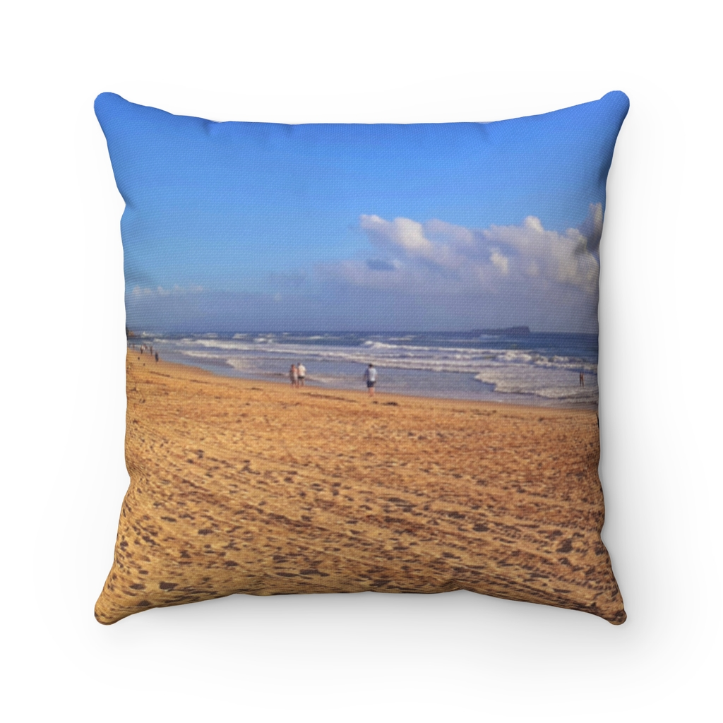 This Clouds at Cotton Tree Beach Cushion is available to buy from the Beach Scenes online store.