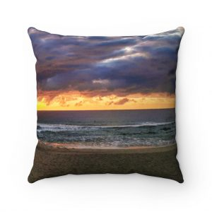 This Storm Clouds at Mudjimba Cushion is available to buy from the Beach Scenes online store.
