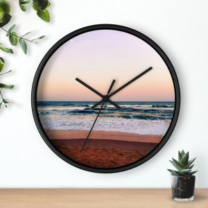 This Sunset Beach Colours Wall Clock is available to buy from the Beach Scenes online store!