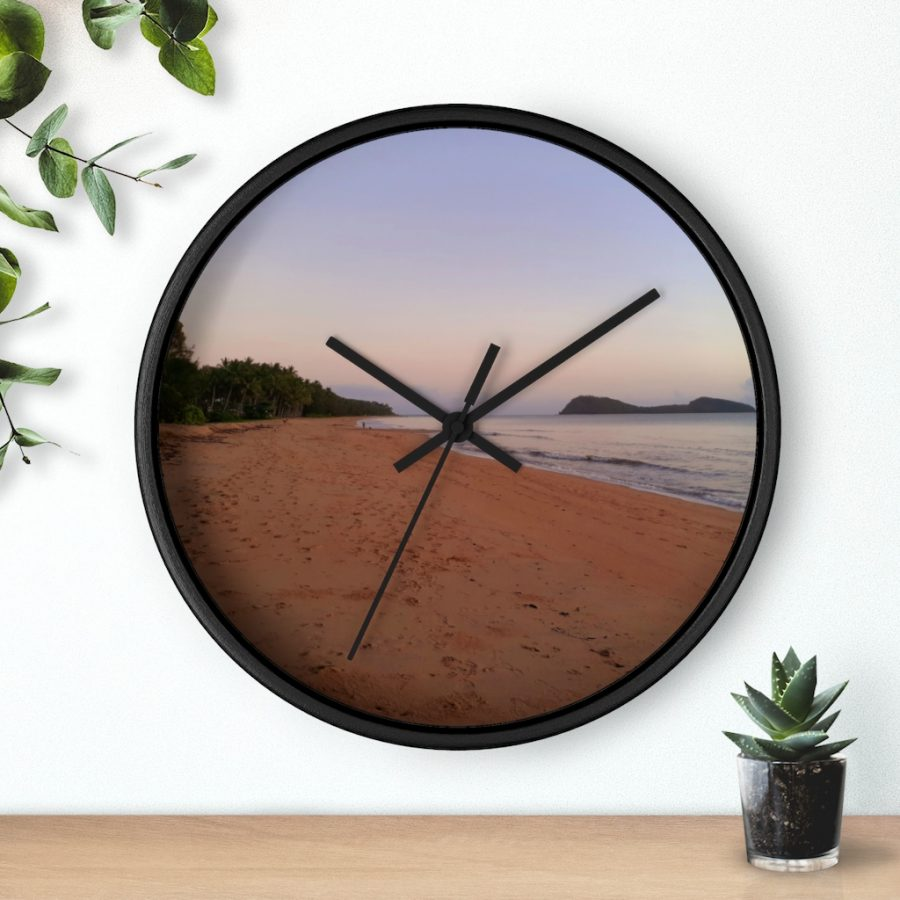 This Four Mile Beach Wall Clock is available to buy from the Beach Scenes online store.