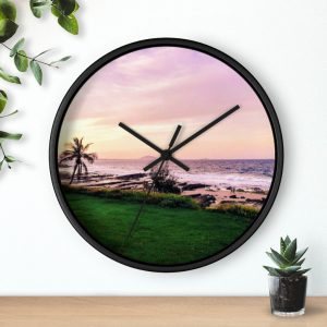 This Mooloolaba Beach Sunset Wall Clock is available to buy from the Beach Scenes online store!