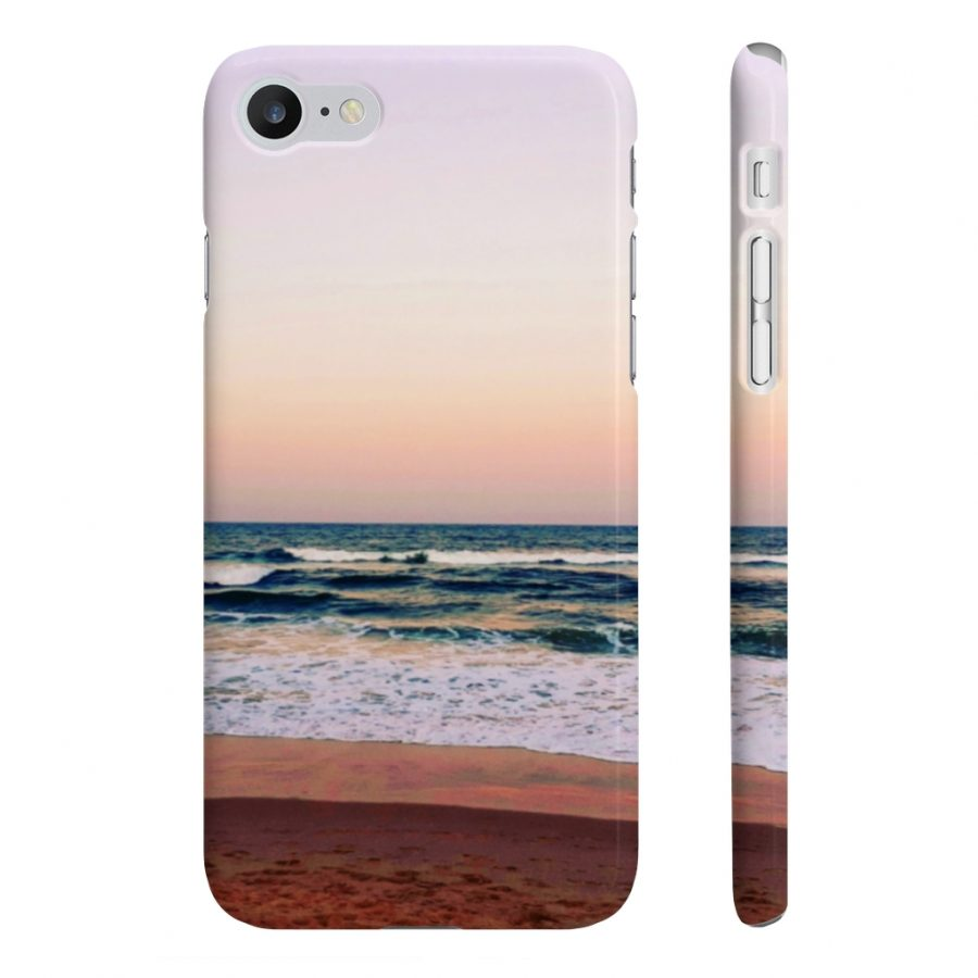 This Phone Case Sunset Colours on Beach is available to buy from the Beach Scenes online store.