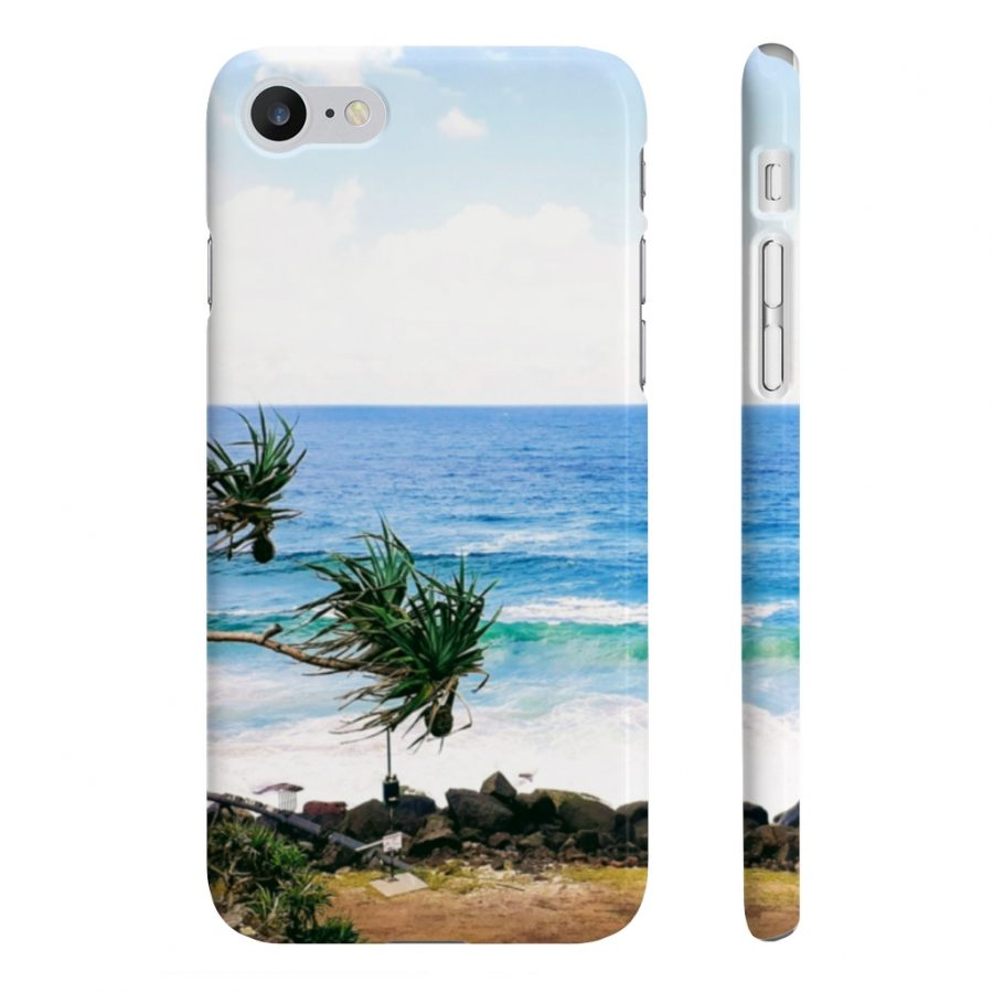 This Phone Case Waves at Coolangatta is available to buy from the Beach Scenes online store.