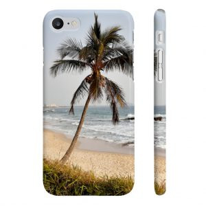 This Phone Case Windswept Palm Tree is available to buy from the Beach Scenes online store.