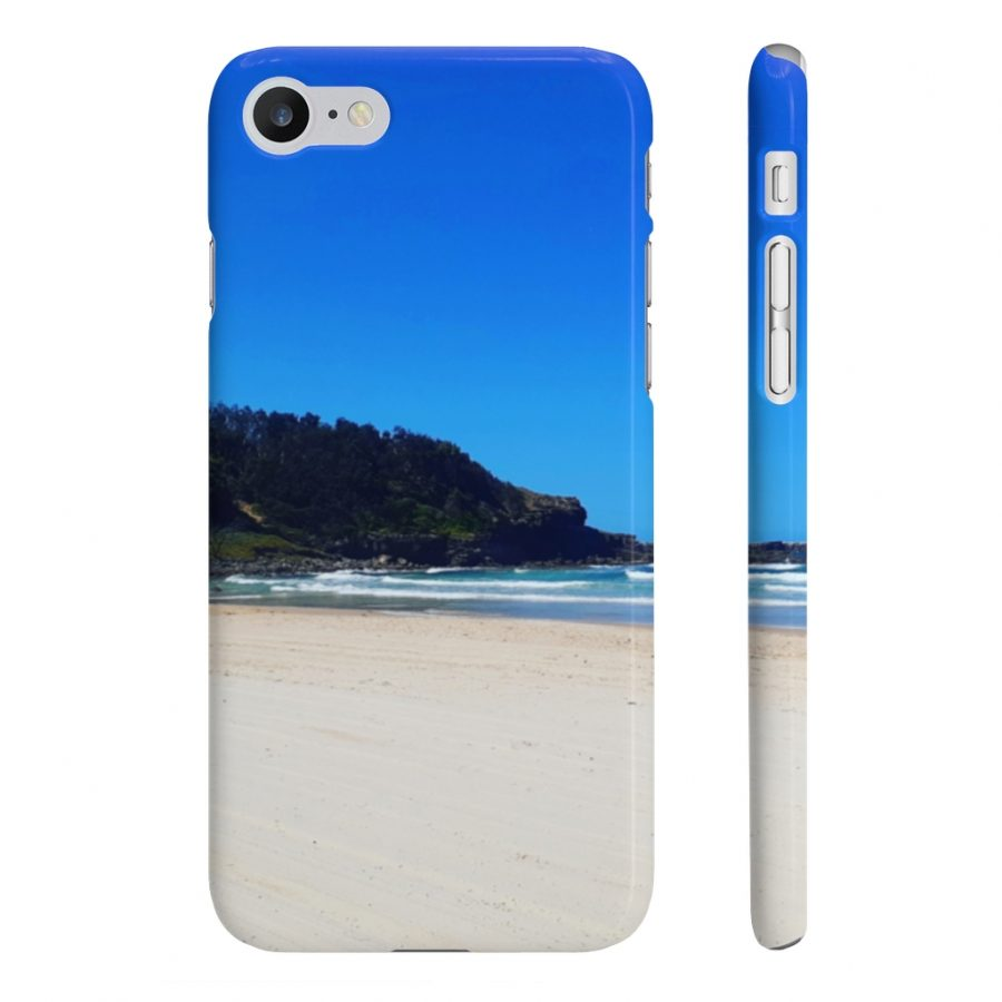This Phone Cases Yamba Beach is available to buy from the Beach Scenes online store.